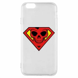 Чехол для iPhone 6/6S Superman Skull