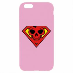 Чехол для iPhone 6 Plus/6S Plus Superman Skull