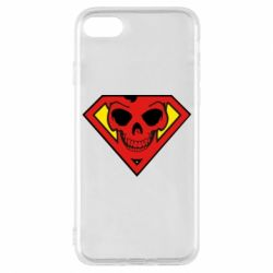 Чехол для iPhone 7 Superman Skull