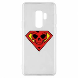 Чехол для Samsung S9+ Superman Skull