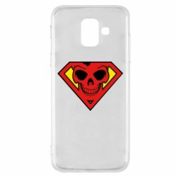 Чехол для Samsung A6 2018 Superman Skull