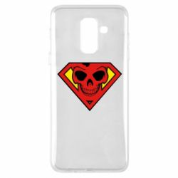Чехол для Samsung A6+ 2018 Superman Skull