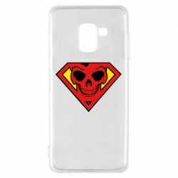 Чехол для Samsung A8 2018 Superman Skull