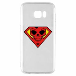 Чехол для Samsung S7 EDGE Superman Skull