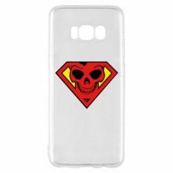 Чехол для Samsung S8 Superman Skull