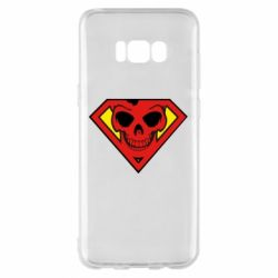 Чехол для Samsung S8+ Superman Skull
