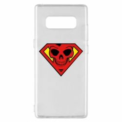 Чехол для Samsung Note 8 Superman Skull