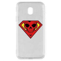 Чехол для Samsung J3 2017 Superman Skull