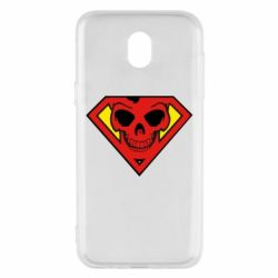 Чехол для Samsung J5 2017 Superman Skull