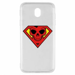Чехол для Samsung J7 2017 Superman Skull