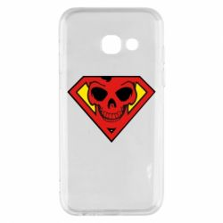 Чехол для Samsung A3 2017 Superman Skull