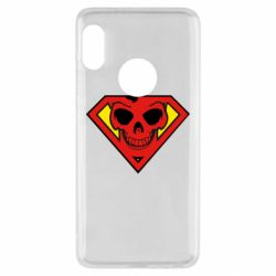 Чехол для Xiaomi Redmi Note 5 Superman Skull