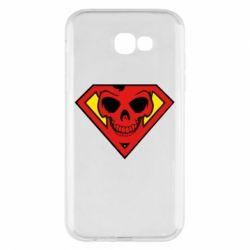 Чехол для Samsung A7 2017 Superman Skull