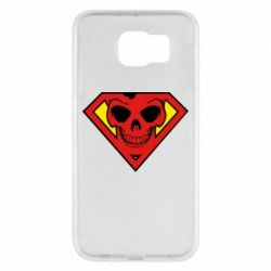 Чехол для Samsung S6 Superman Skull
