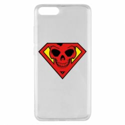 Чохол для Xiaomi Mi Note 3 Superman Skull