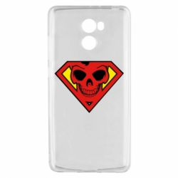 Чехол для Xiaomi Redmi 4 Superman Skull