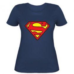 Женская футболка Superman Symbol