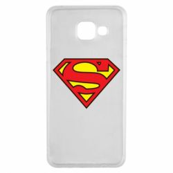 Чехол для Samsung A3 2016 Superman Symbol