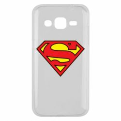 Чехол для Samsung J2 2015 Superman Symbol