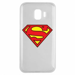 Чехол для Samsung J2 2018 Superman Symbol