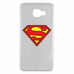 Чехол для Samsung A7 2016 Superman Symbol