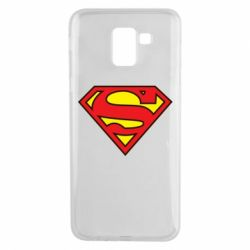Чехол для Samsung J6 Superman Symbol