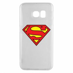 Чехол для Samsung S6 EDGE Superman Symbol