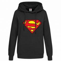Женская толстовка Superman Symbol - FatLine