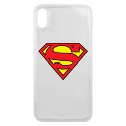 Чехол для iPhone Xs Max Superman Symbol