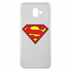 Чехол для Samsung J6 Plus 2018 Superman Symbol