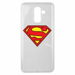 Чехол для Samsung J8 2018 Superman Symbol