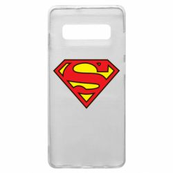 Чехол для Samsung S10+ Superman Symbol