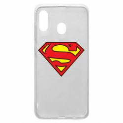 Чехол для Samsung A20 Superman Symbol