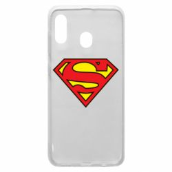 Чехол для Samsung A30 Superman Symbol