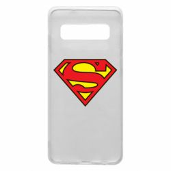 Чехол для Samsung S10 Superman Symbol