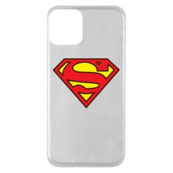 Чехол для iPhone 11 Superman Symbol