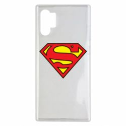 Чехол для Samsung Note 10 Plus Superman Symbol