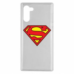 Чехол для Samsung Note 10 Superman Symbol