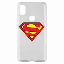 Чехол для Xiaomi Redmi S2 Superman Symbol