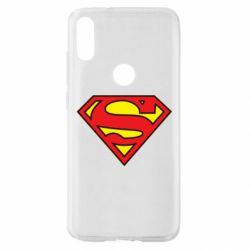 Чехол для Xiaomi Mi Play Superman Symbol
