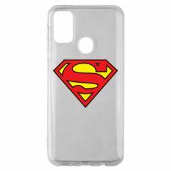 Чехол для Samsung M30s Superman Symbol