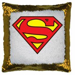 Подушка-хамелеон Superman Symbol