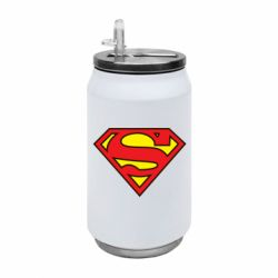 Термобанка 350ml Superman Symbol