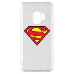 Чехол для Samsung S9 Superman Symbol