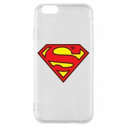 Чехол для iPhone 6/6S Superman Symbol