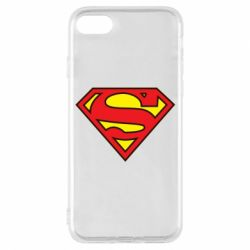 Чехол для iPhone 7 Superman Symbol