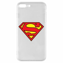 Чехол для iPhone 8 Plus Superman Symbol