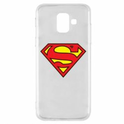 Чехол для Samsung A6 2018 Superman Symbol