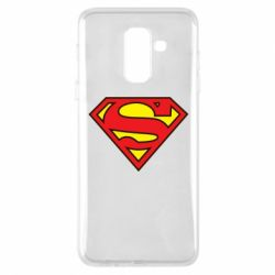 Чехол для Samsung A6+ 2018 Superman Symbol