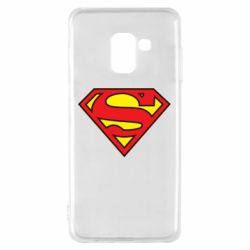 Чехол для Samsung A8 2018 Superman Symbol